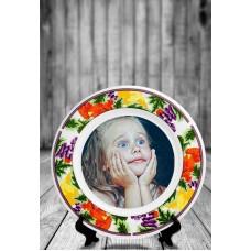 Тарелка керамическая № 07